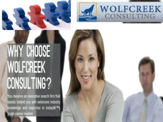 Get qualified healthcare staffing at Wolfcreek