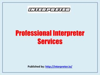 Professional Interpreter Services
