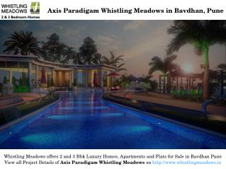 Luxury Residential Homes for Sale in Whistling Meadows Bavdhan Pune