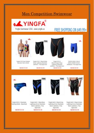 Shop Online Cheap Mens Competition Swimwear