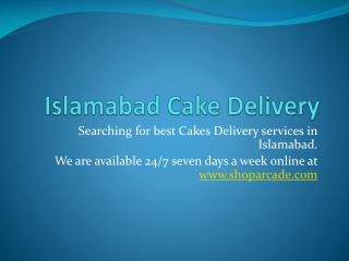 Islamabad Cake Delivery