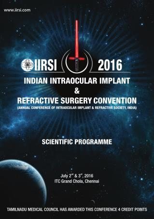 IIRSI Conference Brochure 2016