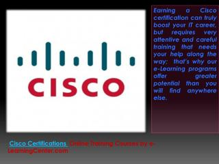 Take Cisco Certification Courses