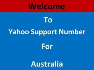 Dial Yahoo Technical Support Number Australia @1800 763 395