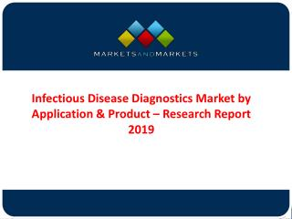 Infectious Disease Diagnostic (IDD) Market Forecast 2019