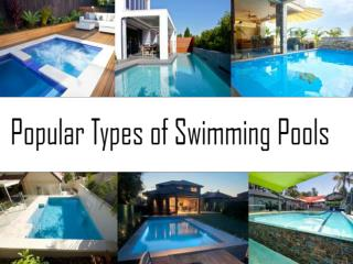 Popular Types of Swimming Pools