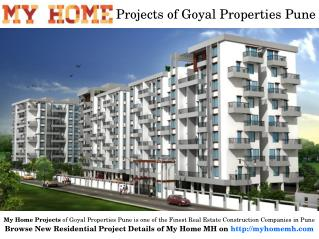 My Home Ongoing Residential Flats in Pune for Sale