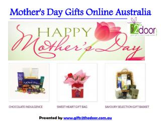 Send Mother's Day Gift To Australia - Gifts2theDoor