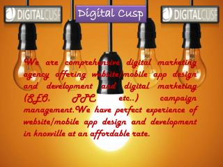 3.	Social Media Marketing By Digital Cusp