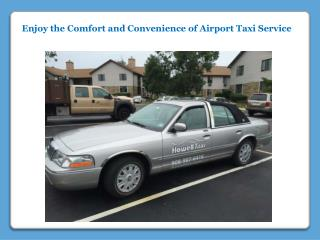 Comfort and Convenience of Airport Taxi Service
