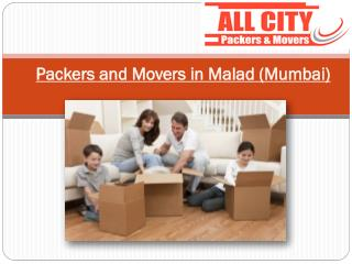 All City Packers & Movers in Malad, Shifting is no Big Deal