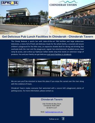 Get Delicious Pub Lunch Facilities In Chinderah - Chinderah Tavern