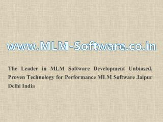 MLM Software India