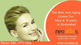 Best Anti Antiageing Cosmetic Treatment