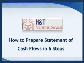 How to Prepare Statement of Cash Flows in 6 Steps