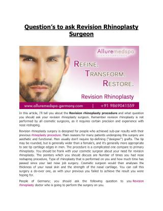 Affordable Rhinoplasty Surgery in Germany