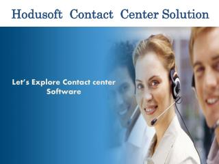 Hodusoft contact center solution