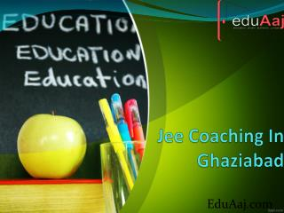 Jee Coaching In Ghaziabad