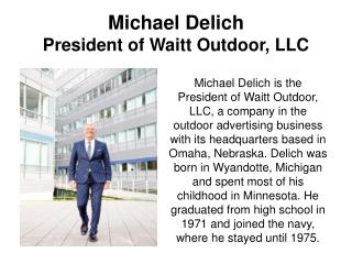 Michael Delich-Vice President of Sales and Marketing