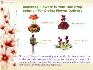Online Flower Delivery - Send Flowes, Gifts & Cakes Online