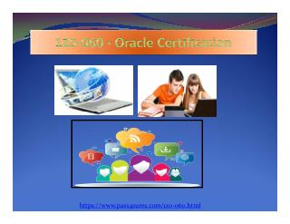 1z0-060 Oracle Real Exam Questions PDF