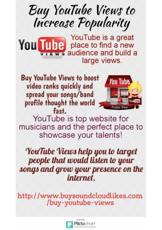 Buy YouTube Views- Buysoundcloudlikes