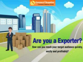 Indian B2B Exporters | connectsupplier.com
