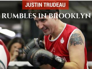 Justin Trudeau rumbles in Brooklyn
