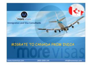 Immigrate to Canada from India