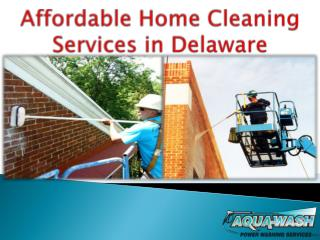 Affordable Home Cleaning Services in Delaware