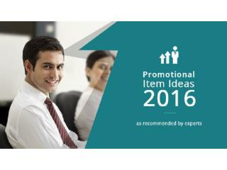 Promotional Gift Item Ideas 2016 As Recommended By Experts