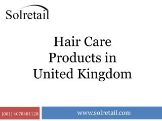 Hair Care Products in United Kingdom