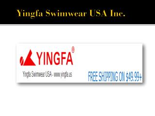 Shop Online Men, Women & Kids Competition Swimwear at Yingfa.us