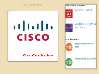 Cisco Certifications Archives
