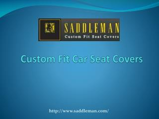 Custom Fit Car seat covers - Nissan Seat Covers