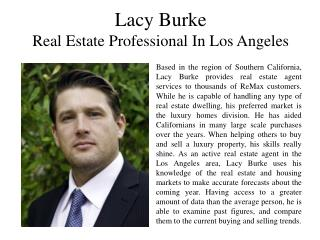 Lacy Burke Real Estate Professional In Los Angeles