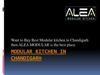 Buy modular kitchen in chandigarh
