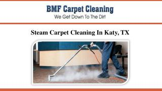 Steam Carpet Cleaning In Katy, TX
