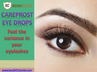 Careprost Eye Drops: Give Natural Growth To Your Eyelashes