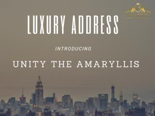 Unity The Amaryllis-luxury apartments in gurgaon