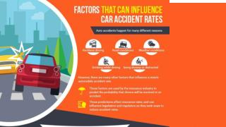 Factors that can influence car accident rates