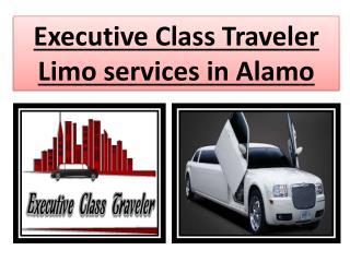 Executive Class Traveler Limo services in Alamo