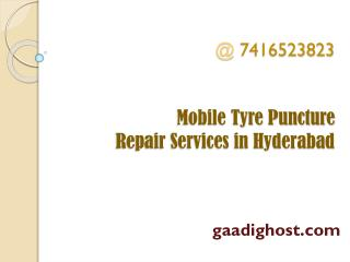 mobile puncture service hyderabad | mobile tyre puncture repair hyderabad