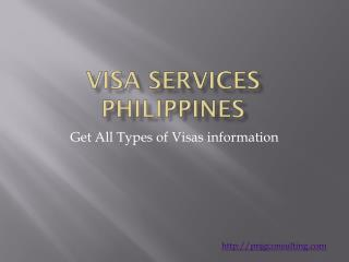 Types of Visa in the Philippines