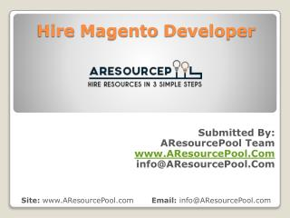 Hire Magento Developer – Affordable Magento Development Services