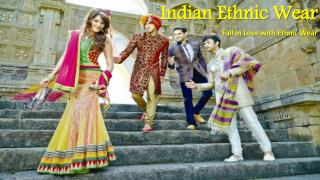 Get Graceful look with Indian Ethnic Wear