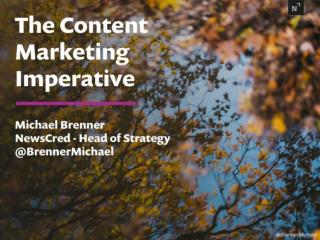 The Content Marketing Imperative For The Argyle Executive Club