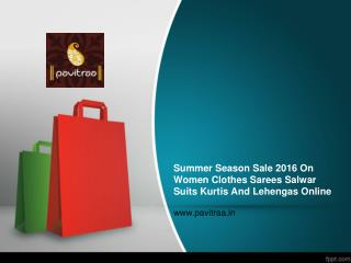 Summer 2016 Special Discount Offer On Women Clothes Online