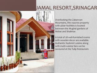 Book Jamal Resort Srinagar online