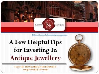 What You Need To Know Before Investing In Antique Jewellery